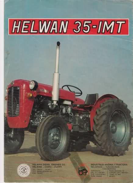 Traktor Helwan 35 IMT opća tema Yf18h11