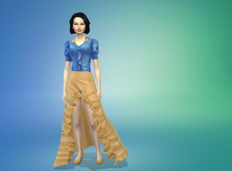 [Abandon] Blanche-Neige Princesse - Challenge des Princesses Disney 23-11-12
