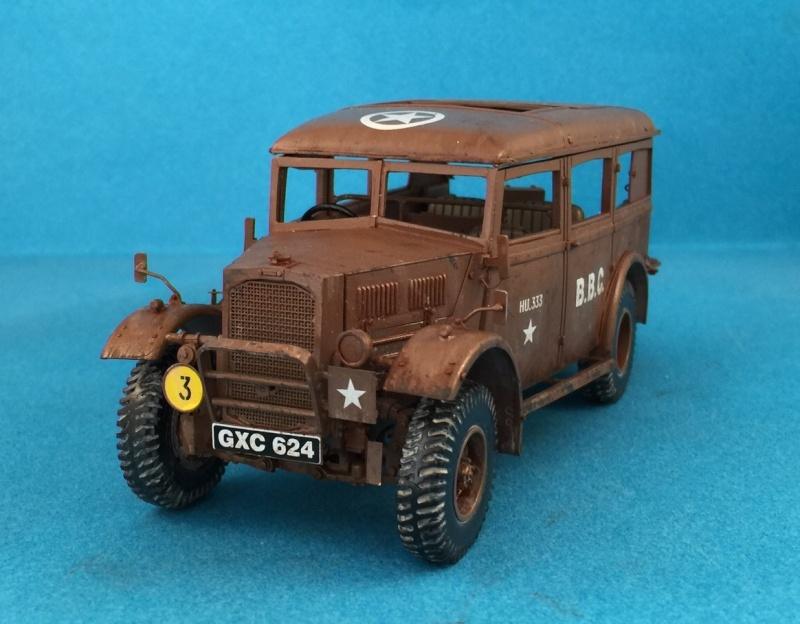 "La BBC en action - ""Humber staff car"" Accurate Armour + figurines Bronco et scratch - 1/35 Image10"