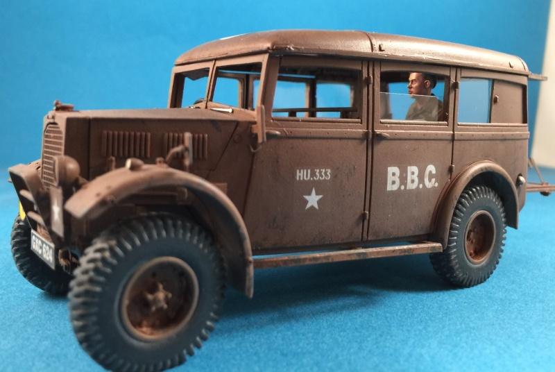 "La BBC en action - ""Humber staff car"" Accurate Armour + figurines Bronco et scratch - 1/35 Image20"