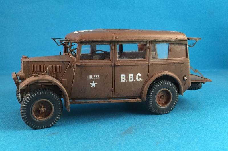 Humber FWD Ambulance Accurate Armour 1/35 Image25