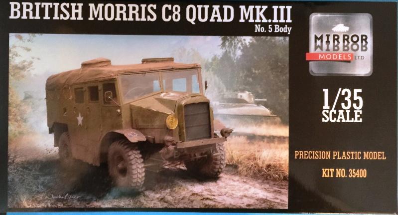 Mirror Models Morris Commercial C8 Quad MkIII No5 body 1/35. Devoirs de vacances Img_2510