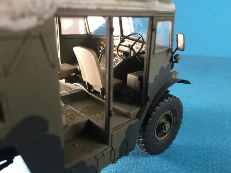 Mirror Models Morris Commercial C8 Quad MkIII No5 body 1/35. Devoirs de vacances Img_2614
