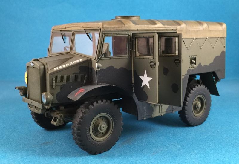 Mirror Models Morris Commercial C8 Quad MkIII No5 body 1/35. Devoirs de vacances Img_2615