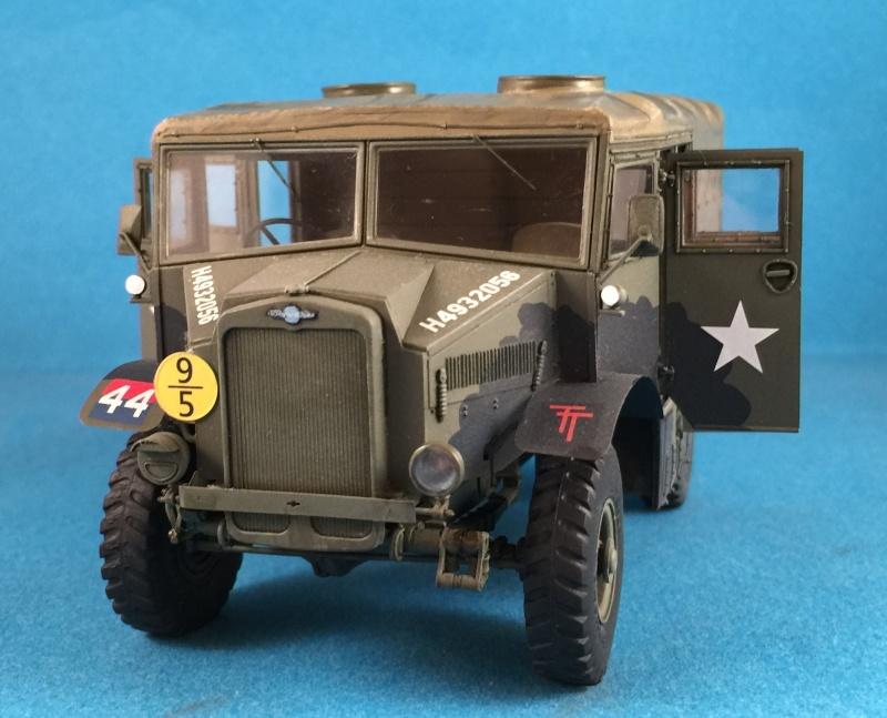 Mirror Models Morris Commercial C8 Quad MkIII No5 body 1/35. Devoirs de vacances Img_2616