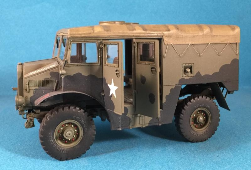 Mirror Models Morris Commercial C8 Quad MkIII No5 body 1/35. Devoirs de vacances Img_2621