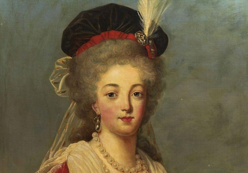 Marie Antoinette, portraits d'après Elisabeth Vigée Lebrun  - Page 3 Dapres10