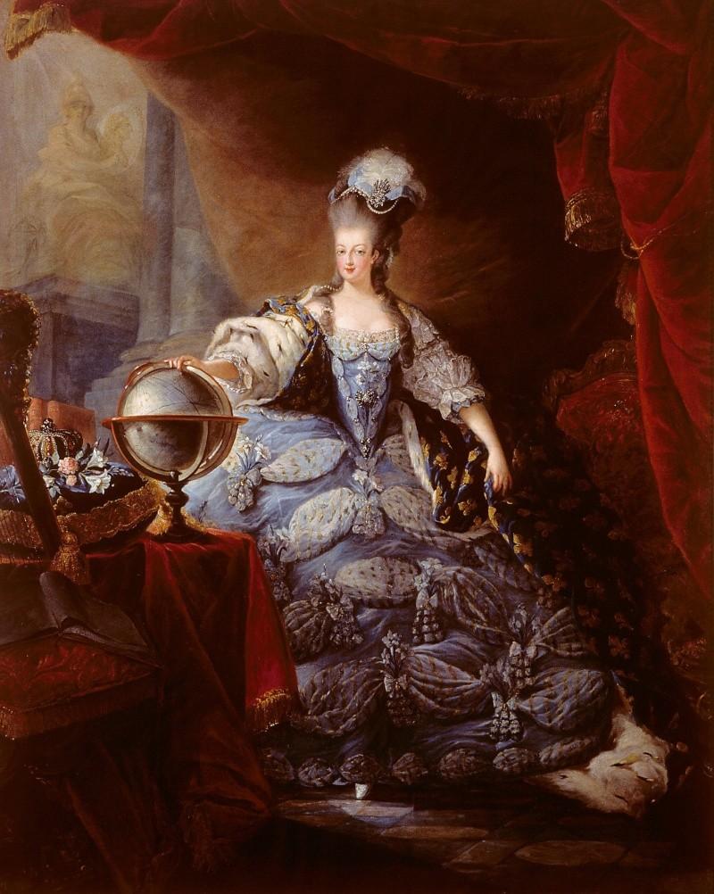 les robes à panier de Marie-Antoinette Gautie10
