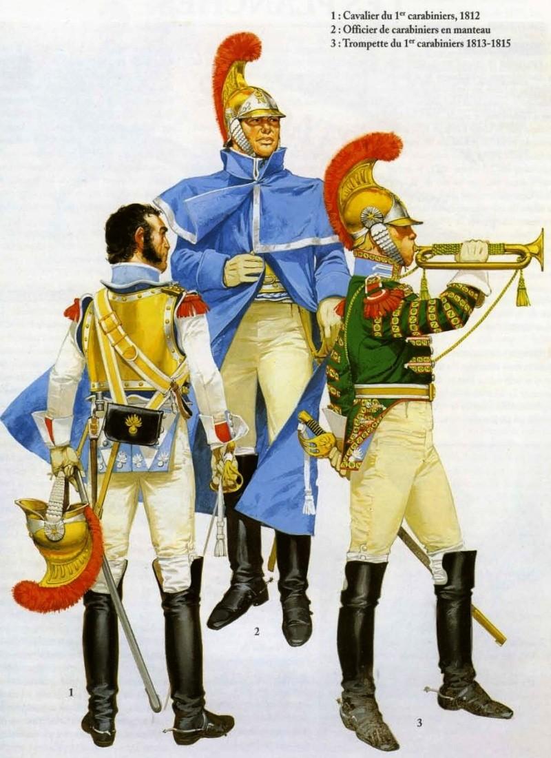 Carabiniers en cuirasses au 1/72. Ss_tit11
