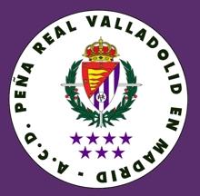 Peña del Real Valladolid en Madrid