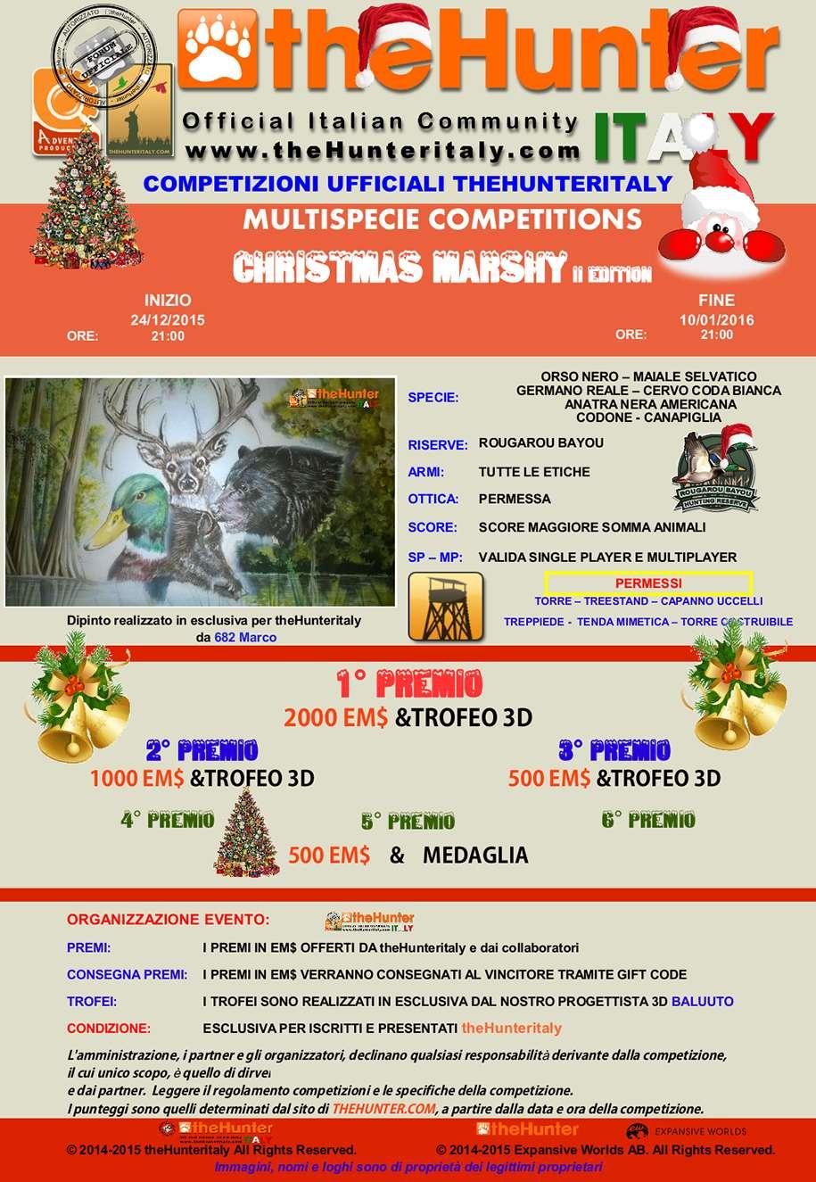 [CONCLUSA] - Competizioni Ufficiali theHunterItaly:  - Christmas Marshy II Edition - Multispecie Multis14