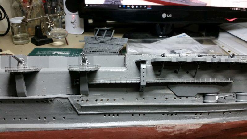 JPN Flugzeugträger AKAGI1:250 von DE AGOSTINI gebaut von Arrowsmodell - Seite 6 20151125