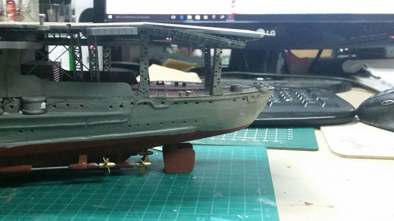 JPN Flugzeugträger AKAGI1:250 von DE AGOSTINI gebaut von Arrowsmodell - Seite 6 20151226