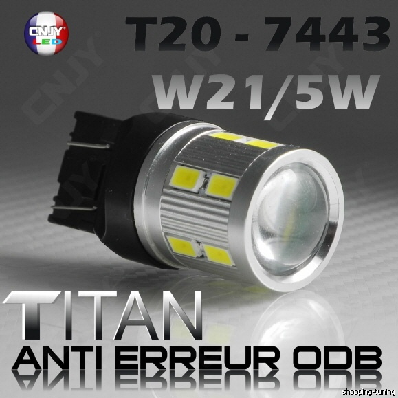 Montage ampoules LED 21/5 W feux de jour Opel Mokka - Page 5 Ledtit10