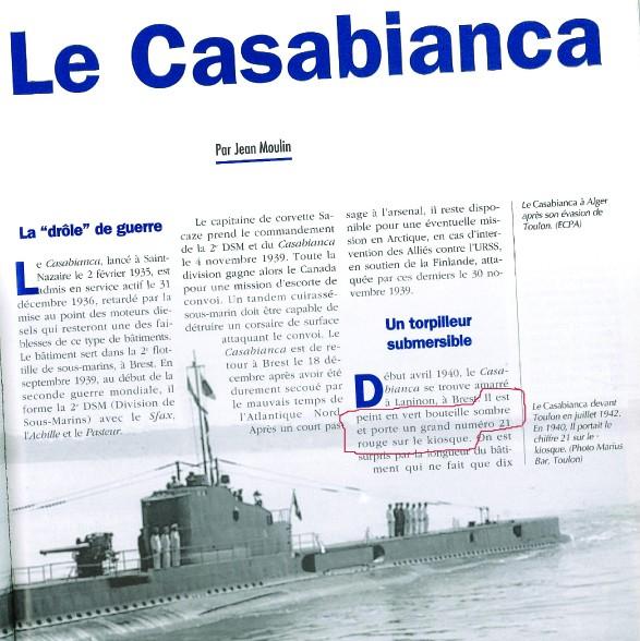 Sous-marin CASABIANCA - Page 2 Casabi18