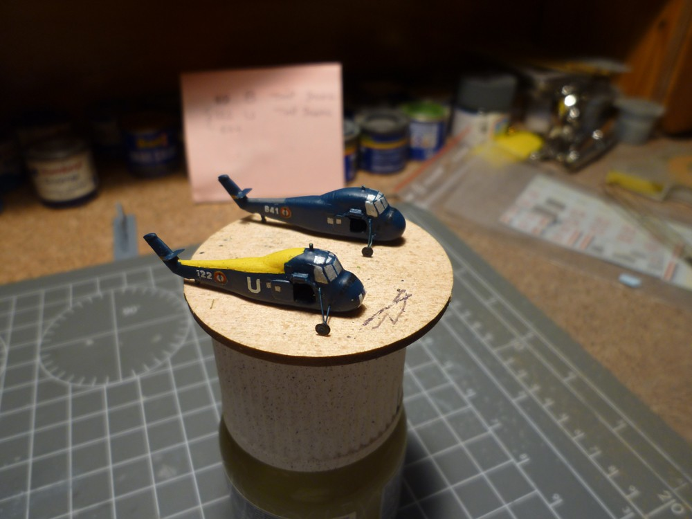 Escorteur d'escadre Surcouf  Heller 1/400 + L'ARSENAL  - Page 8 E_e_su36