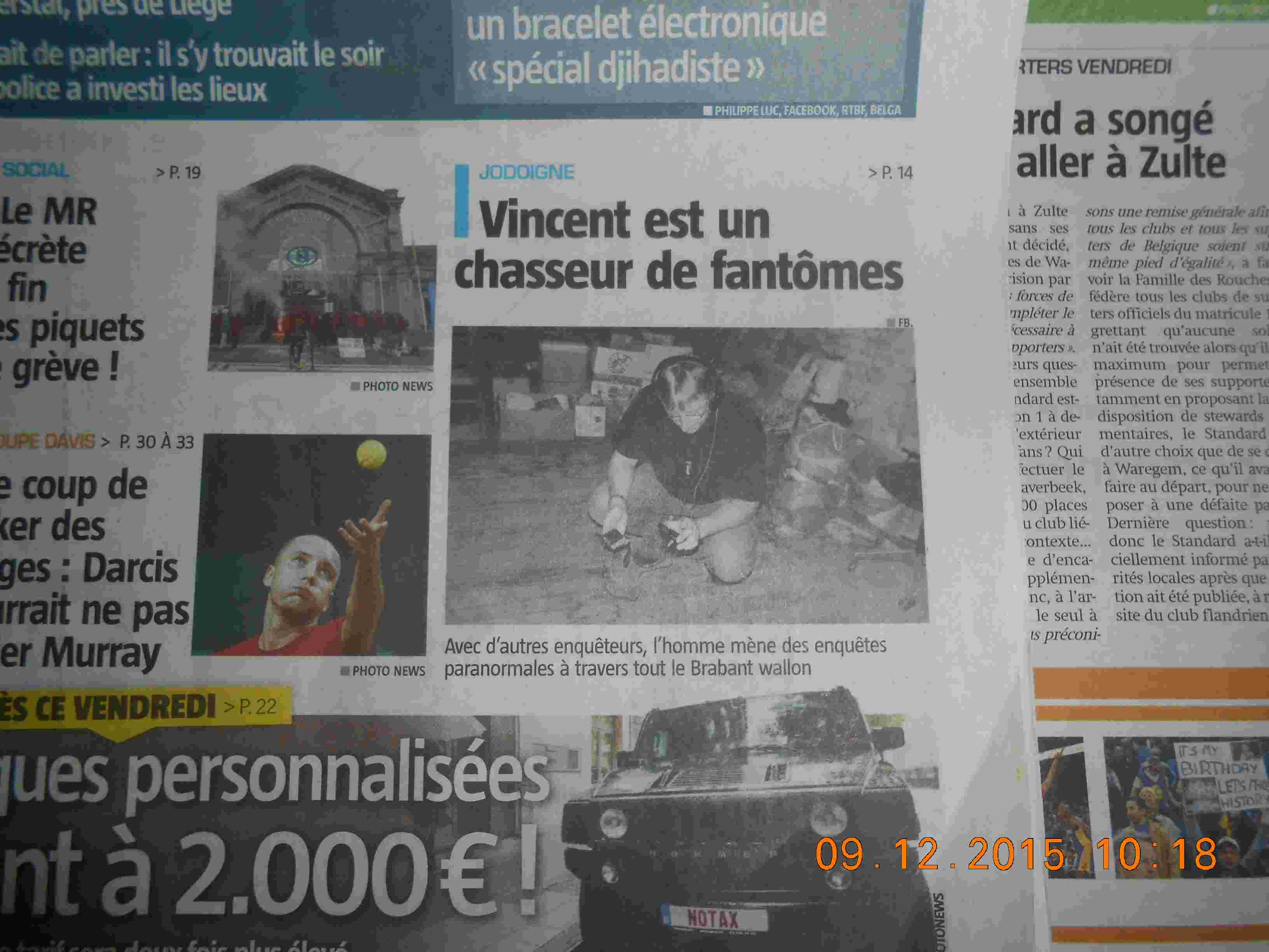 Interview avec la capitale.be Brabant Wallon le 25 novembre 2015 Dscn0515