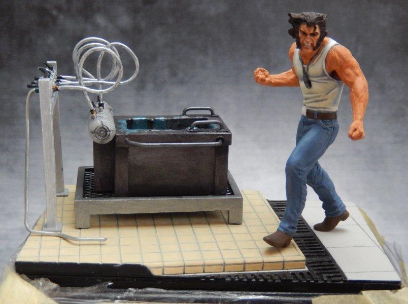 Wolverine de Knight Models, qui a enfin trouvé son décor - Page 2 3010