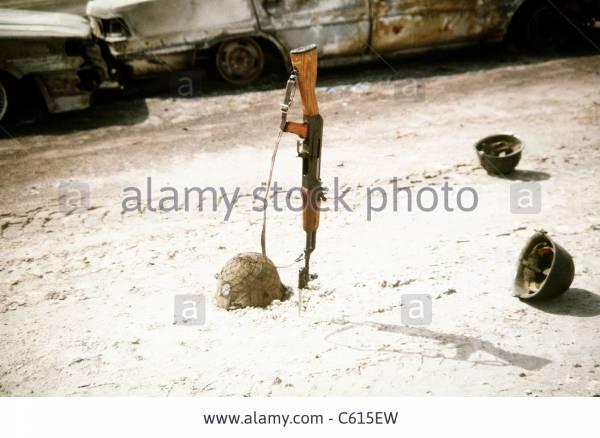 Iraqi M80 Helmet with marked burlap cover Zzzzpa10