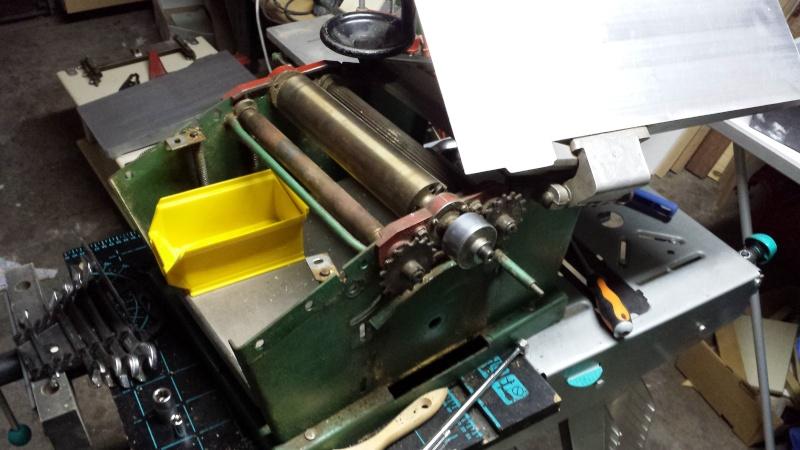 Restauration d'une Kity 636 20151210