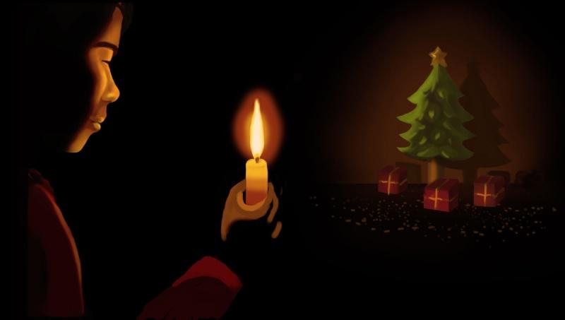 [defis] Le calendrier de l'avent / Les 12 jours de Noël - Page 3 Bougie12