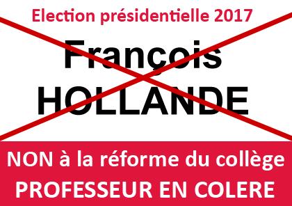 Présidentielles 2017 : Réforme du collège, des rythmes, loi travail... #ON S'EN SOUVIENDRA Bullet11