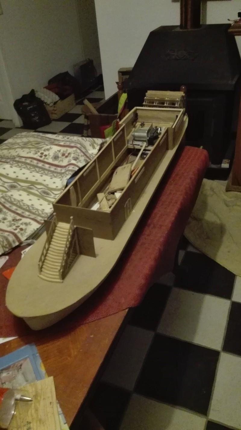 Le Marieville mississipi boat au 1/50° sur plan  - Page 2 Constr11