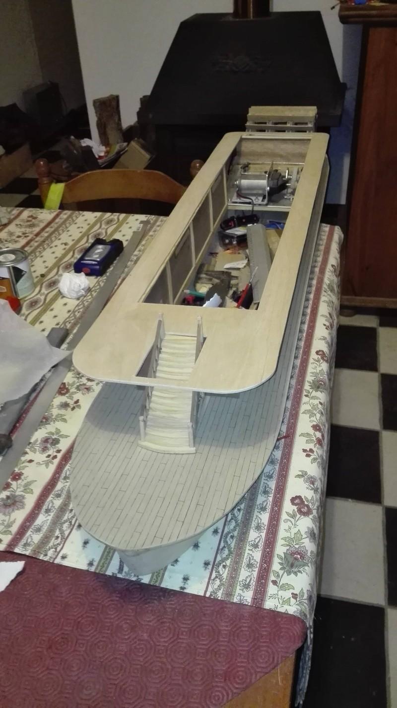 Le Marieville mississipi boat au 1/50° sur plan  - Page 2 Week-e17