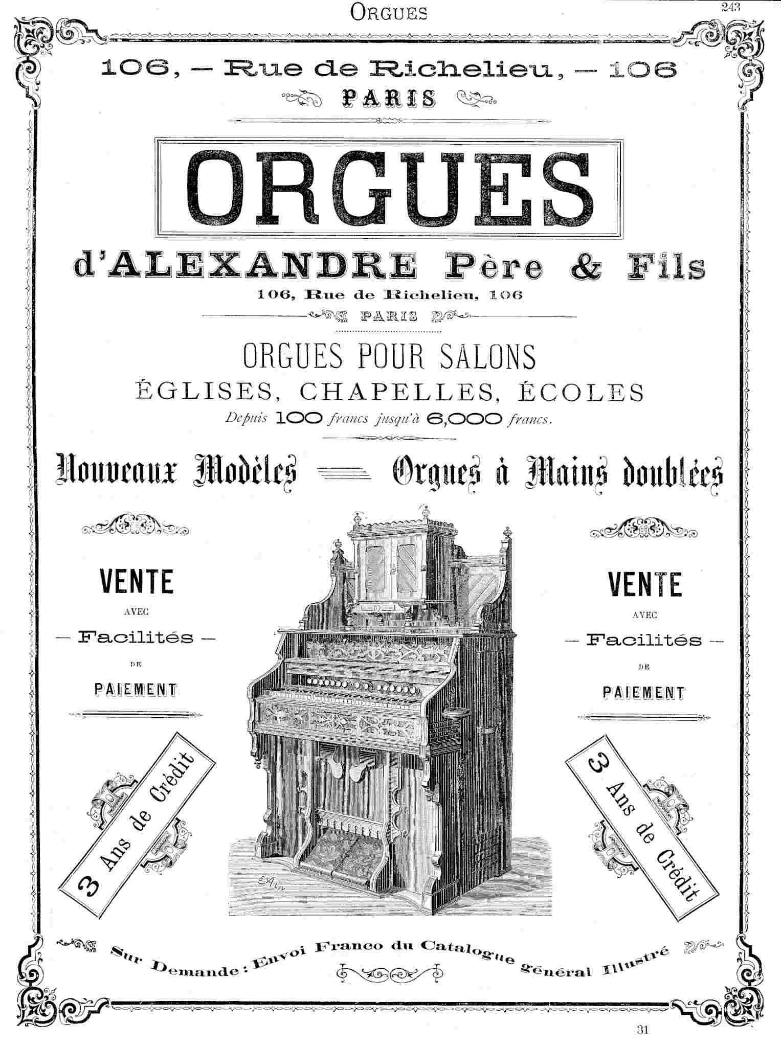 Les Catalogues des différentes manufactures - Page 3 Orgues10