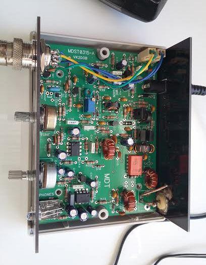KIT émetteur récepteur QRP phonie 40m ( ozQRP ) Captur10