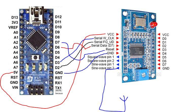 KIT émetteur récepteur QRP phonie 40m ( ozQRP ) Connec10
