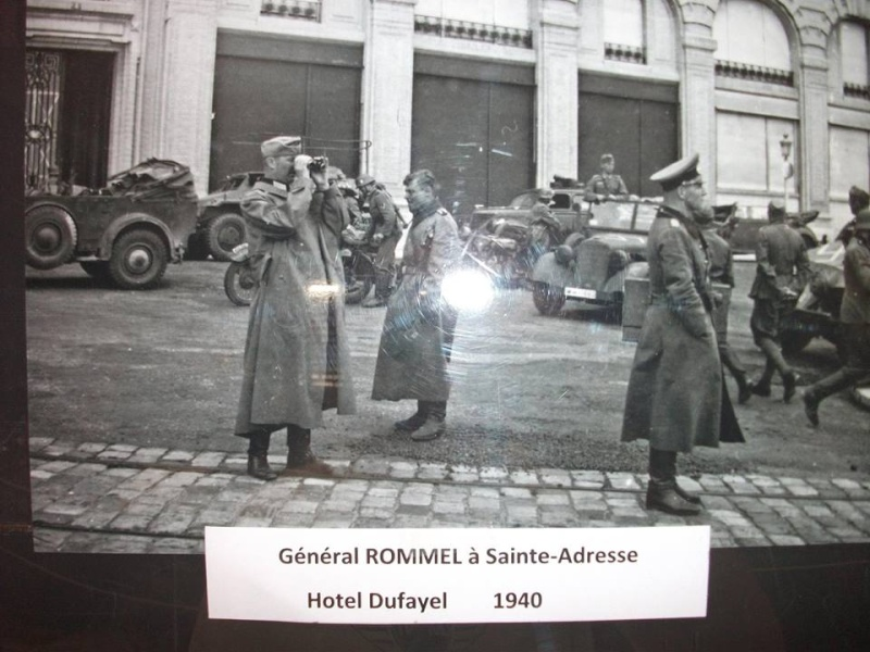 quelques photos du HAVRE pendant l'occupation.. Rommel10