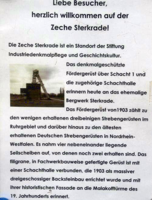 Zeche Sterkrade Schacht 1 1114