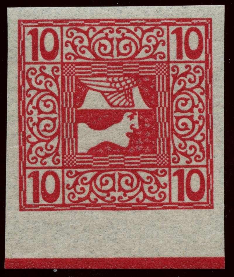 DIE ZEITUNGSMARKEN AUSGABE 1908 Ank_1510