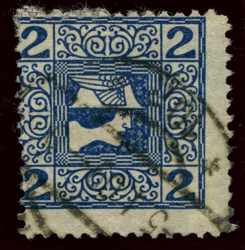 DIE ZEITUNGSMARKEN AUSGABE 1908 Ank_1511