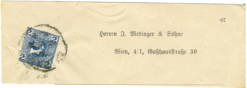 DIE ZEITUNGSMARKEN AUSGABE 1908 Ank_1515