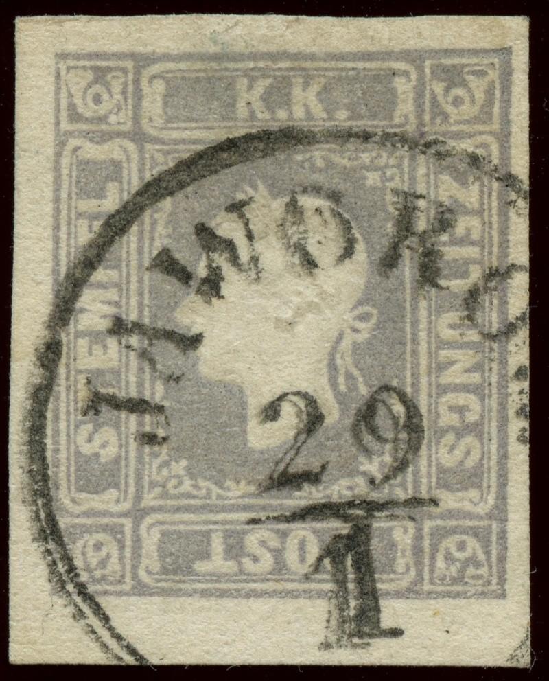 DIE ZEITUNGSMARKEN AUSGABE 1858 Ank_1710