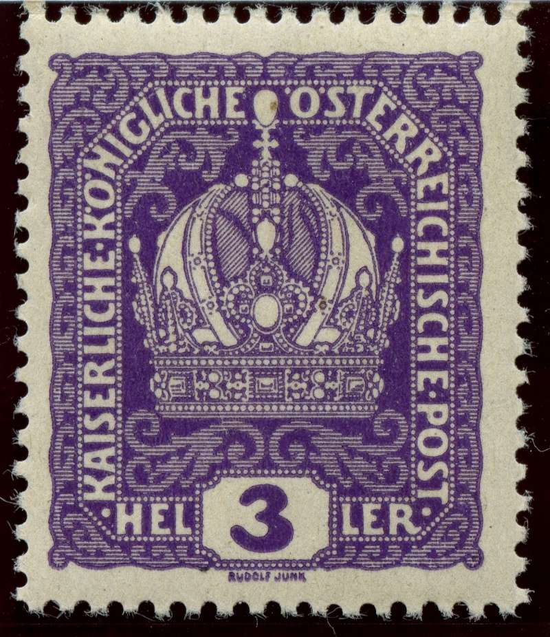 Die Freimarkenausgabe 1916 Ank_1810
