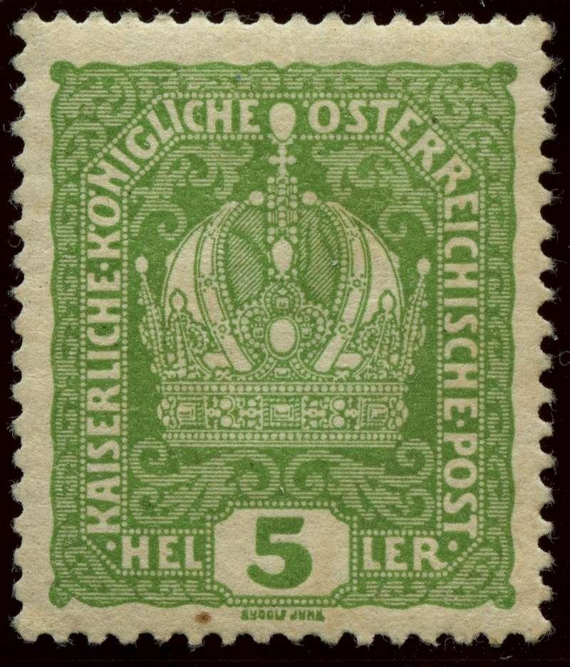 Die Freimarkenausgabe 1916 Ank_1811