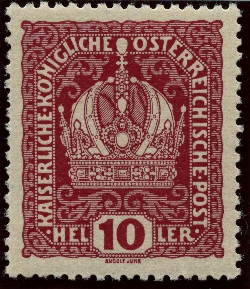 Die Freimarkenausgabe 1916 Ank_1813