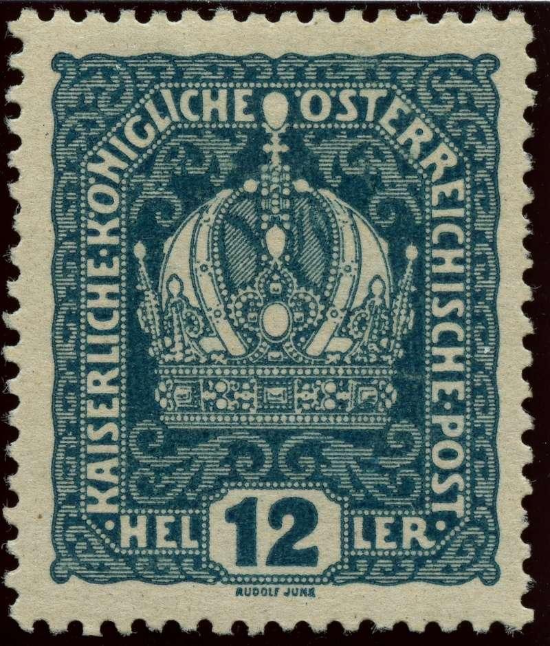 Die Freimarkenausgabe 1916 Ank_1814