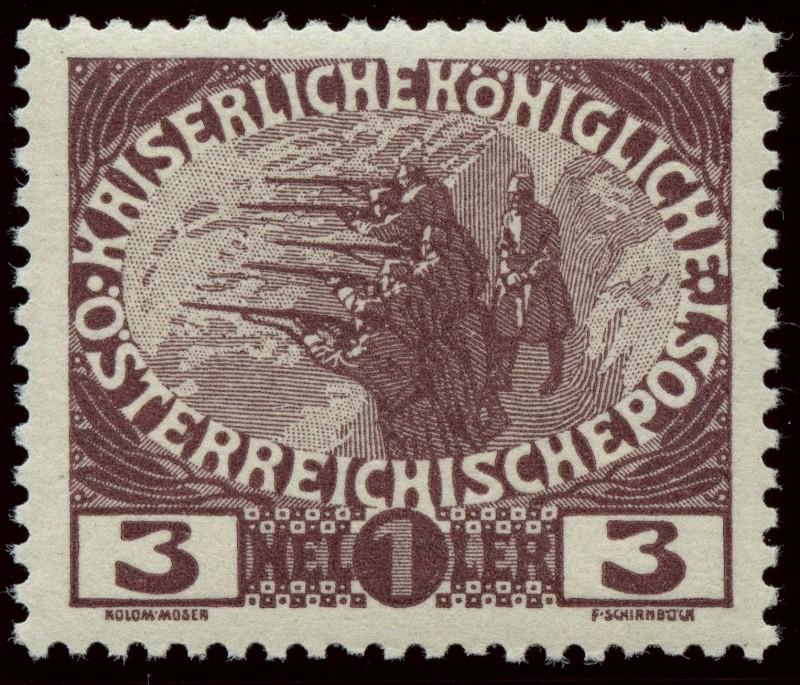 Die Wohltätigkeitsmarken-Ausgaben: 1914 und 1915 Ank_1815