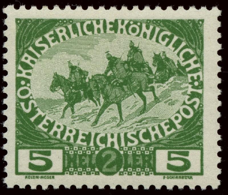 Die Wohltätigkeitsmarken-Ausgaben: 1914 und 1915 Ank_1816