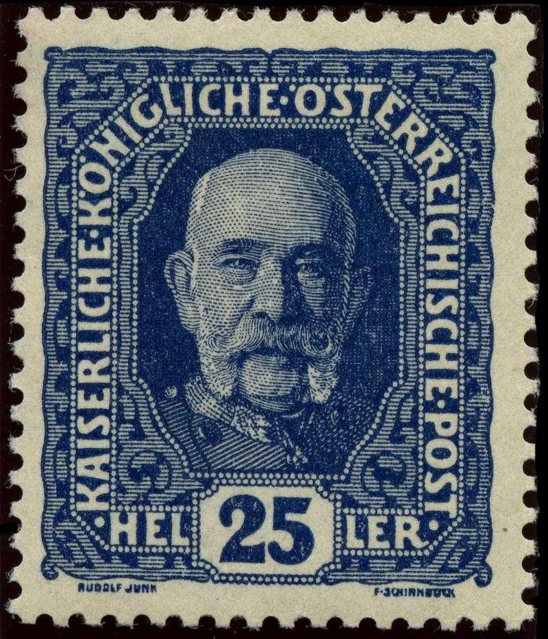 Die Freimarkenausgabe 1916 Ank_1914