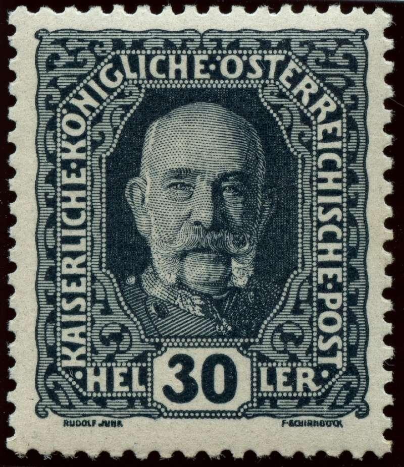 Die Freimarkenausgabe 1916 Ank_1915