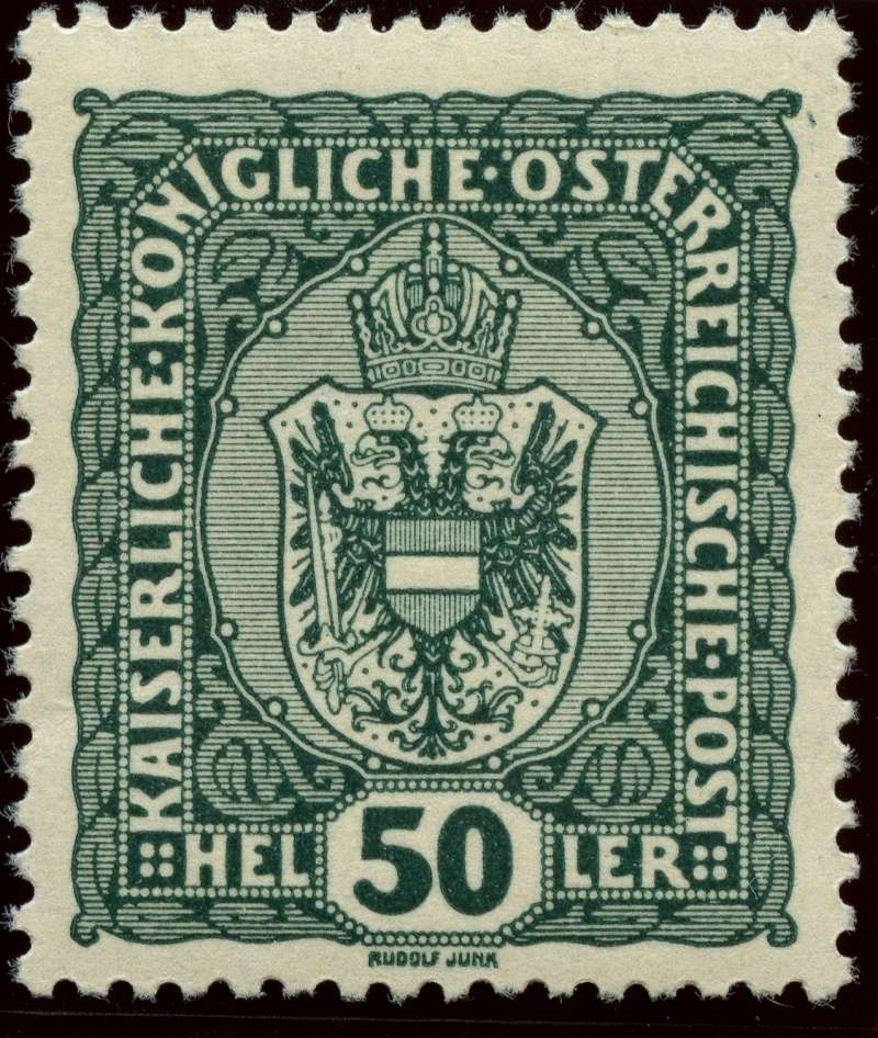 Die Freimarkenausgabe 1916 Ank_1917