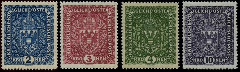 Die Freimarkenausgaben 1916 - 1918/1919 Ank_2010
