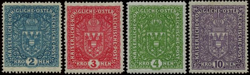 Die Freimarkenausgaben 1916 - 1918/1919 Ank_2012