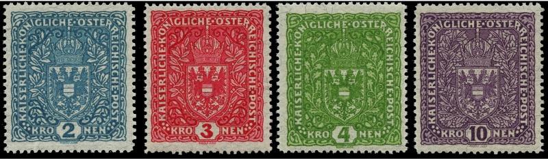 Die Freimarkenausgaben 1916 - 1918/1919 Ank_2013