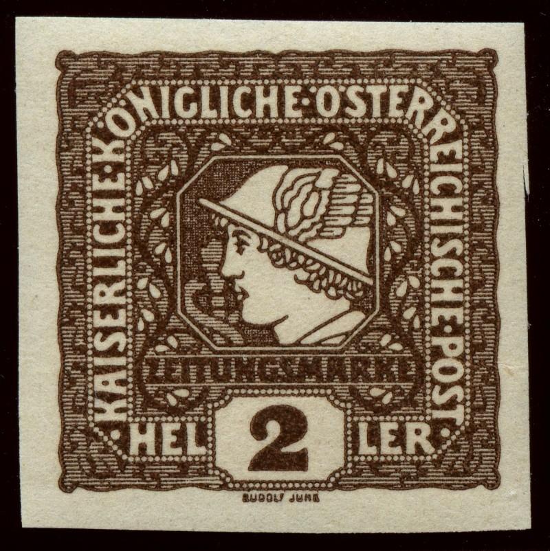 DIE ZEITUNGSMARKEN AUSGABE 1916 Ank_2110